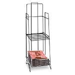 Wire Newspaper Display Rack