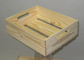 Wooden Crates 12ct Produce Display Wood Display