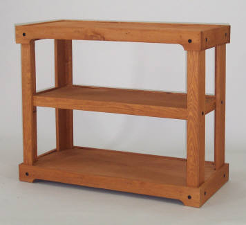 Wooden Shelf Display Store Fixture Candy Concepts Inc