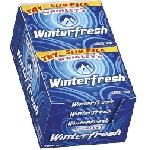 Wrigley Winterfresh Gum Slim Pack - 10ct