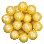 Yellow Shimmer Gumballs - 1
