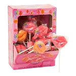 Yummy Lips Lollipops - 24ct