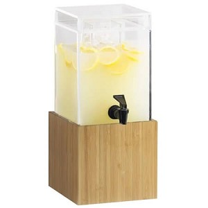 Bamboo Beverage Dispenser  - 1.5 Gal
