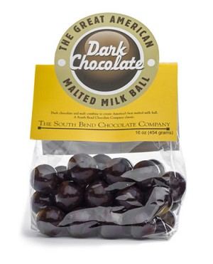 Dark Chocolate Malt Balls 1lb - 20ct