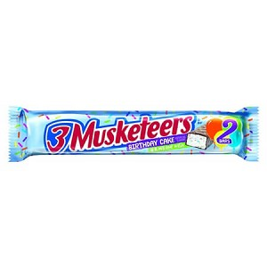 3 Musketeers Birthday Cake Share Bar - 24ct