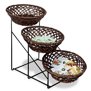 3-Tier Bowl Display