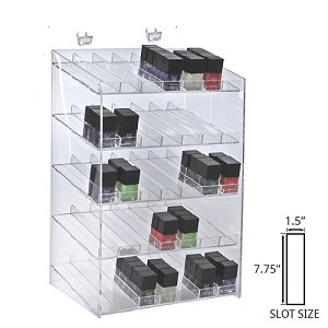 5 Tier 35 Compartment Cosmetic Display
