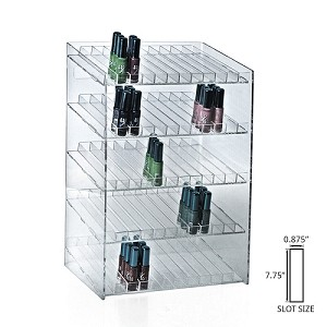 5 Tier 60 Compartment Cosmetic Display