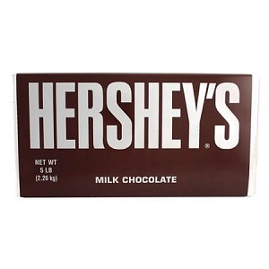 Hershey Chocolate Bar - 5lb