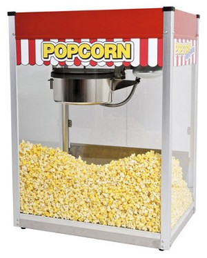 Classic Pop 20oz Popcorn Machine - MF