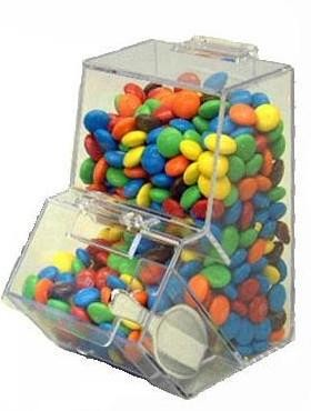 8.5 oz Double Decker Mini Candy Bin - 12ct