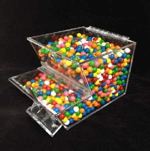 8in. Wide Stackable Topping Bin