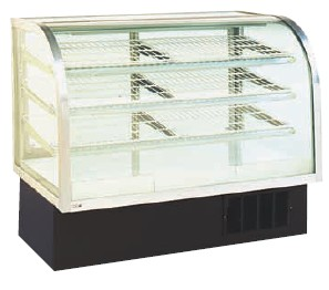 Refrigerated Bakery Case - Curved Front - 48""