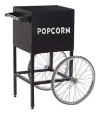 Cart For Black Fun Pop 4 Ounce Popcorn Machine Mobile Cart