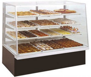 Non-Refrigerated Bakery Case - 40""