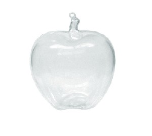 Clear Apple Candy Container - 12ct