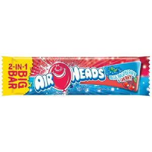 Blue Raspberry/Cherry Airheads Big Bar - 24ct