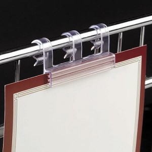 Clip-On Wire Sign Holders - 10ct