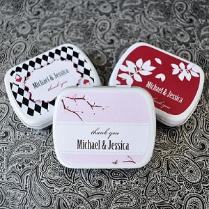 Elegant Design Wedding Mint Tins - 24ct