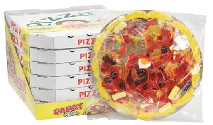 Giant Gummy Pizza - 6ct