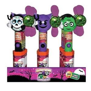 Halloween Expressions Candy Fans - 12ct