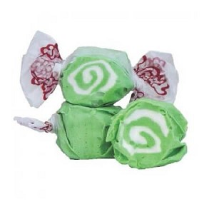 Green Swirl Key Lime Salt Water Taffy - 20lbs