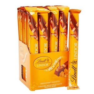 Lindt Caramel Chocolate Sticks