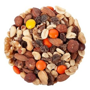 Peanut Butter Rainbow Nut Mix