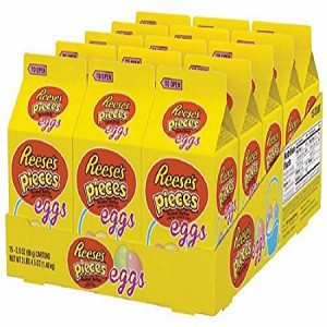Reese's Pieces Pastel Easter Egg Cartons - 15ct