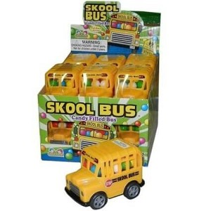 Skool Bus Candy Filled  - 12ct