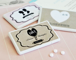Vintage Wedding Mini Mints - 24ct