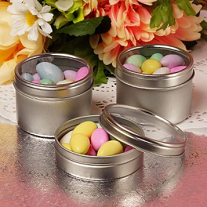 Windowed Round Tin  - 2oz  - 24ct