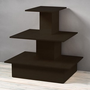 Wood Black Space Saving Wall Table
