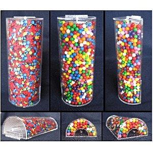 Acrylic Candy Tube - Candy Rack Accessory