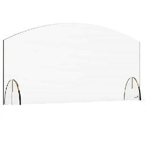 Acrylic Protection Barrier / Sneeze Guard 36 x 4.7 x 15.5