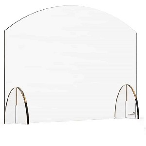 Acrylic Protection Barrier / Sneeze Guard 24 x 4.7 x 15.5