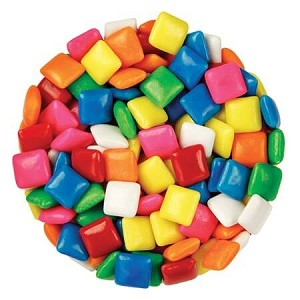 Assorted Chickles Gum - 25lbs