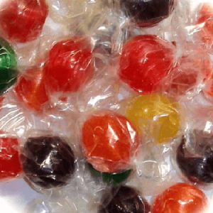 Assorted Sour Fruit Balls - 29lbs