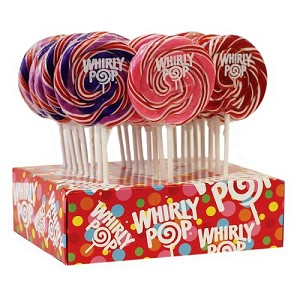 Assorted Whirly Pops 1.5oz - 60ct