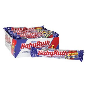 Baby Ruth King Size Bar - 18ct