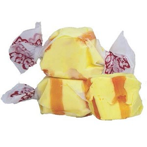Banana Salt Water Taffy - 20lbs