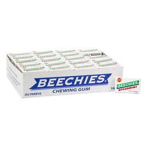 Beechies Spearmint Gum - 100ct