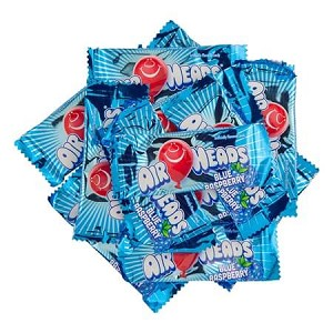 Blue Raspberry Mini Airheads - 8lbs