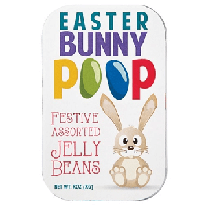 Bunny Poop Jelly Bean Tin - 18ct