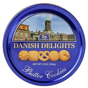 Butter Cookies Tin - 12ct