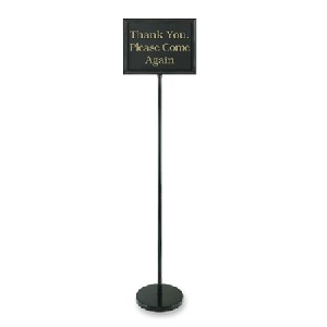 Classic Retail Sign Holder w/ 15 Pre-Printed Signs