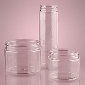 12 Oz Tall Clear Screw Top Jars - 24ct