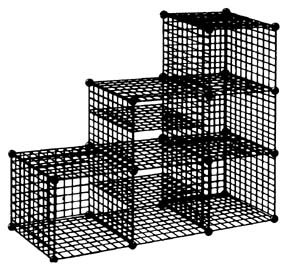 6 Cube Wire Step System