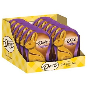 Dove Dark Chocolate Bunny