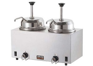 Twin Warmer with Pumps